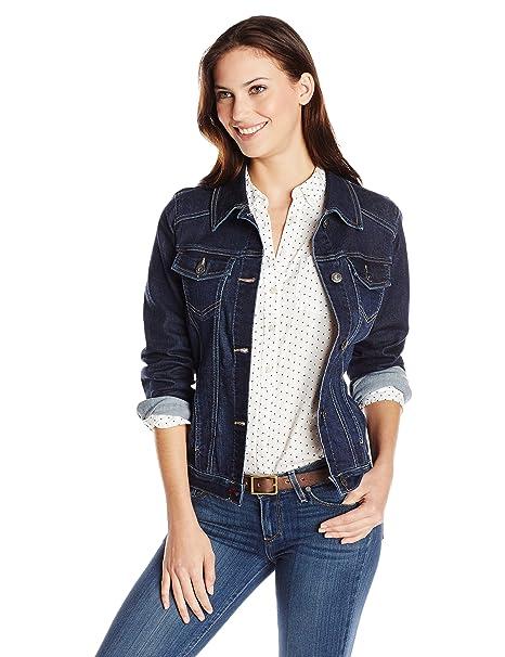 Wrangler Authentics Women s Denim Jacket  Amazon.ca  Clothing ... b5466a438e5