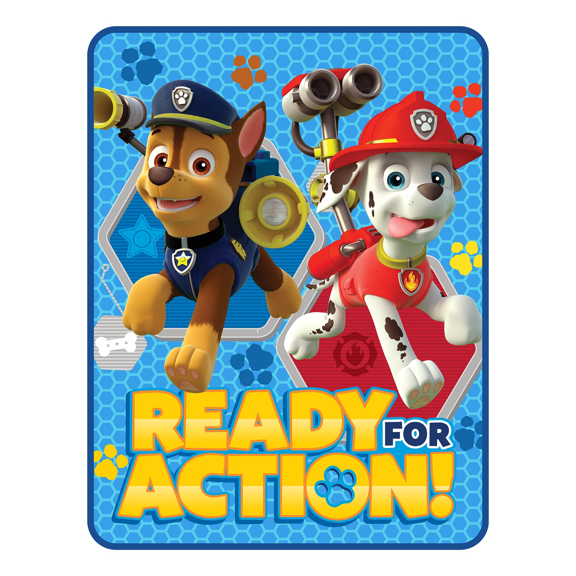 Nickelodeon Paw Patrol Saving Our Friends Microraschel Throw