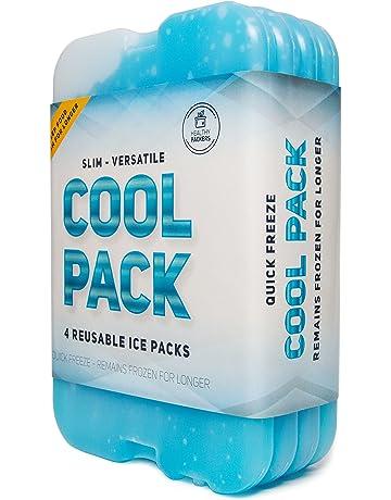 Mini Réutilisable blocs de glace Congélateur PACKS VOYAGE Refroidisseur Sac Boite Picnic Camping Neuf