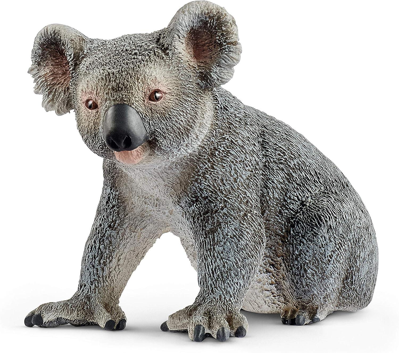 Amazon Com Schleich Wild Life Koala Bear Educational Figurine For Kids Ages 3 8 Toys Games