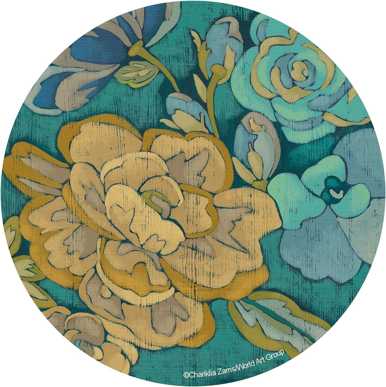 Cork Backed Aura Sandstone Drink Coaster 4-Set Permanent Full Color Image