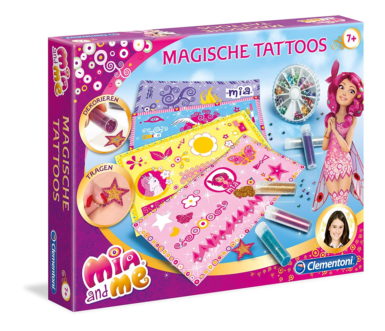 Clementoni 69440.2 - MIA y yo - Magia Tatuaje: Amazon.es: Juguetes ...