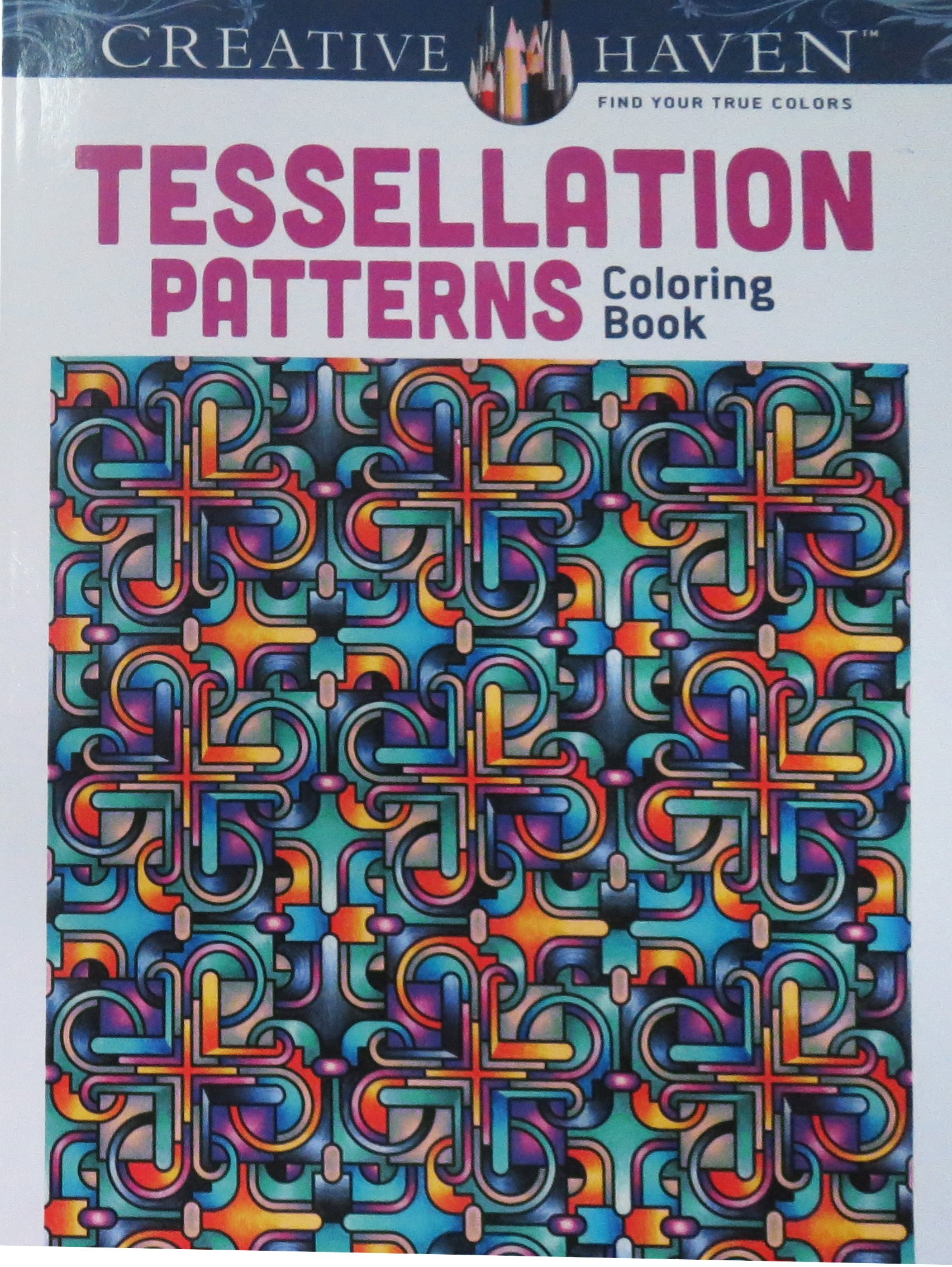 amazon com dover creative haven tessellation patterns coloring