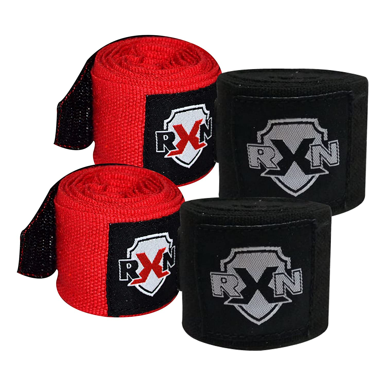 RXN Boxing Hand Wraps – 4.5メートル 4.5 Meter レッド B075QPXH3C