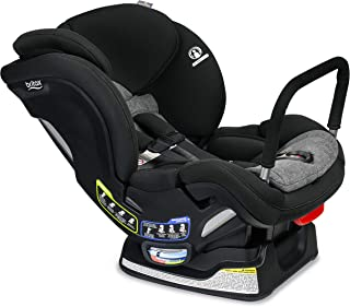 product image for Britax Boulevard ClickTight Anti-Rebound Bar Convertible Car Seat | 2 Layer Impact Protection - Rear & Forward Facing - 5 to 65 Pounds, StayClean Fabric with Nanotex Technology, Grey