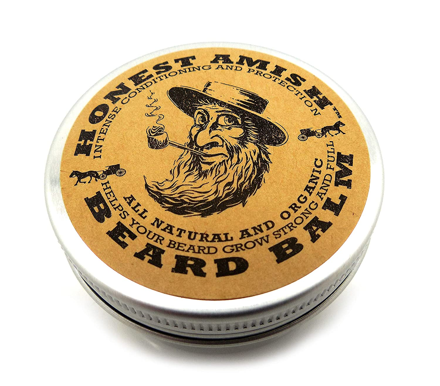 Best Beard Balms Honest Amish Beard Balm with Natural Ingredients