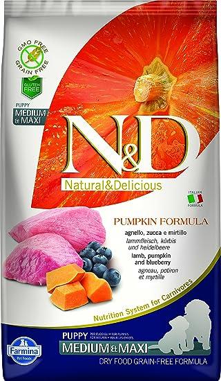 Farmina - Farmina N&D Calabaza y Cordero Puppy Medium & Maxi Grain Free - 2343 -