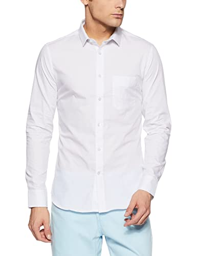 a783f727df1d5c US Polo Association Men s Printed Slim Fit Cotton Formal Shirt Formal Shirts  from amazon in Apparels