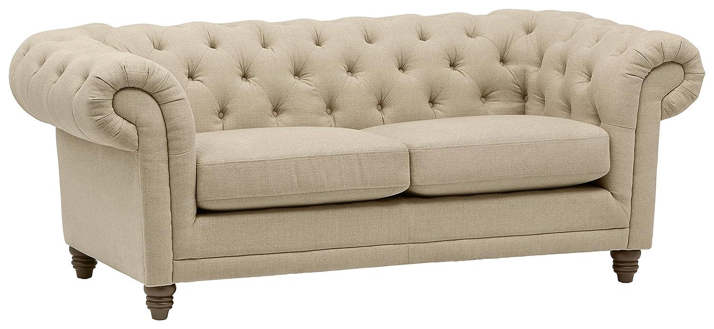 Stone & Beam Bradbury Chesterfield Tufted Loveseat Sofa Couch
