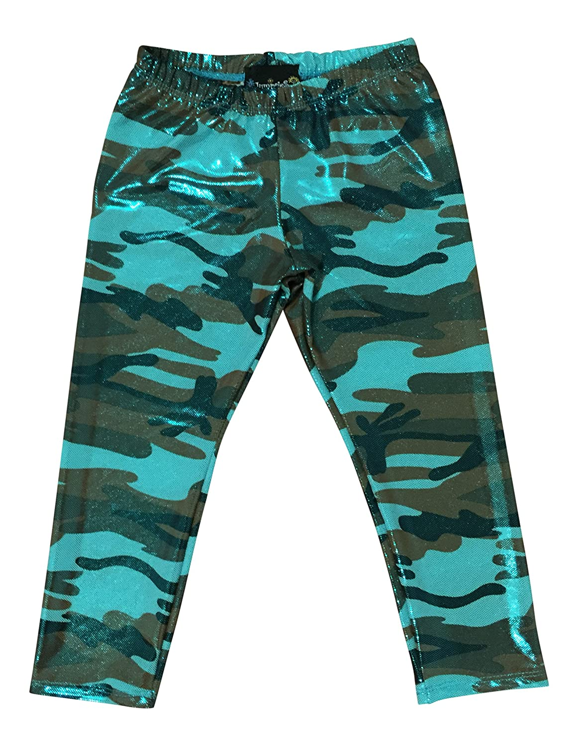 Jumpsies Little Girls Camo Sparkled Leggings