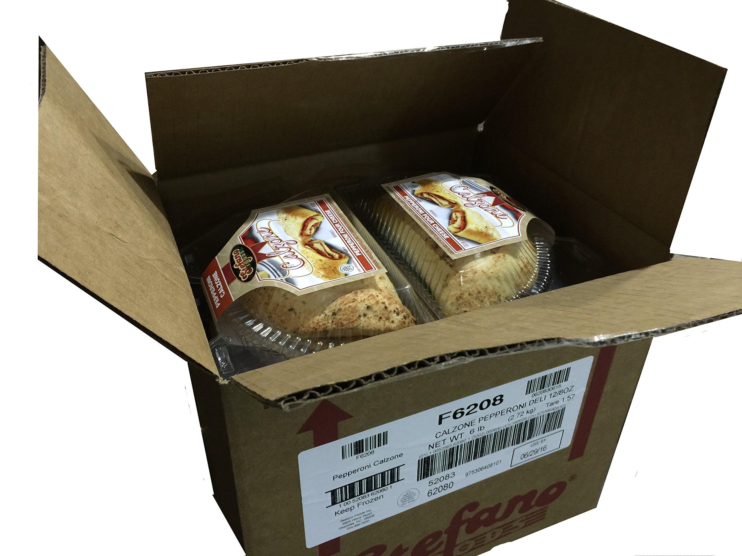 Stefano Foods Pepperoni Calzone, 8 oz., (12 per case)