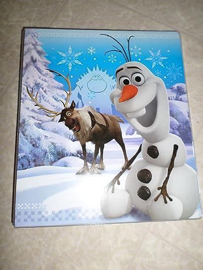 "Disney Frozen Olaf 1 ""cartón"