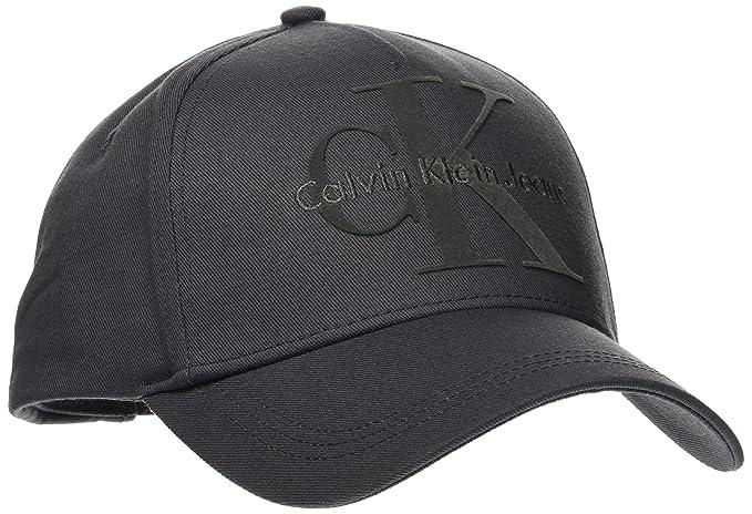 Calvin Klein Re-Issue Baseball Cap, Gorra de béisbol para Hombre, Gris (Asphalt), Talla única: Amazon.es: Ropa y accesorios