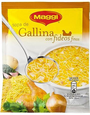 Maggi Sopa de Gallina con Fideos deshidratada - Paquete de 18 x 3.78 gr - Total