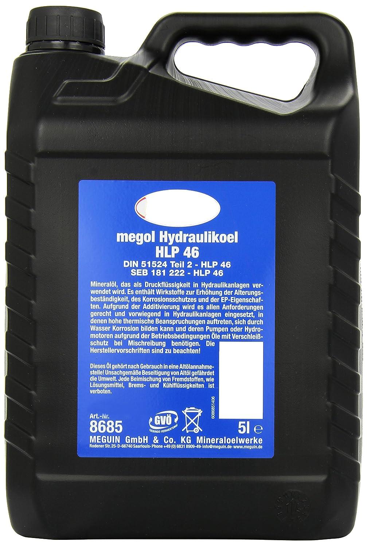 Meguin 8685 - Meguin megol hidrá ulico hlp aceite de 46, 5 l Meguin GmbH & Co. KG