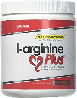 L-Arginine Plus Raspberry - Delicious Blood Pressure, Cholesterol and Energy Supplement - Heart