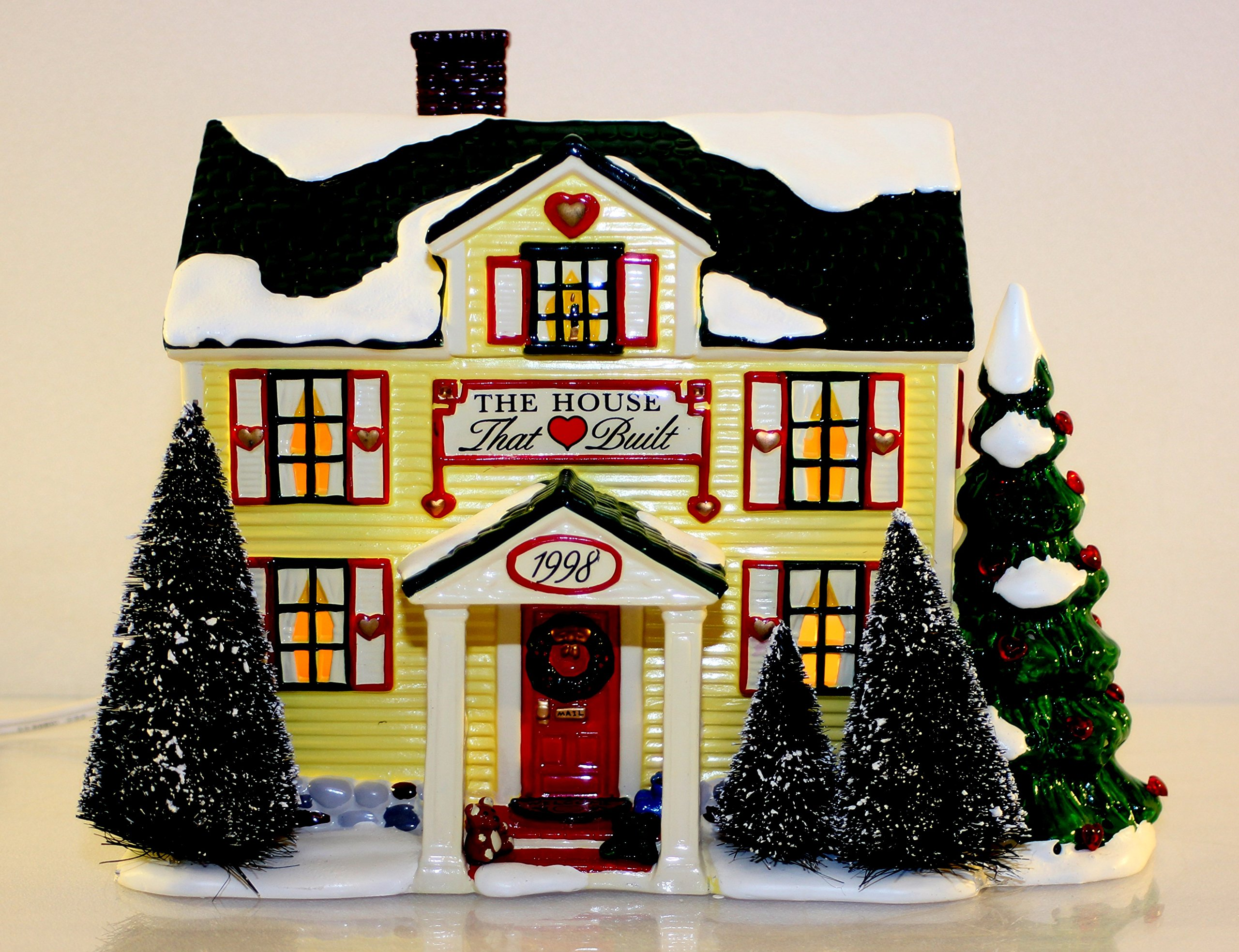 Department 56 The House That Love Built ''Ronald McDonald House'' 1998 #02210
