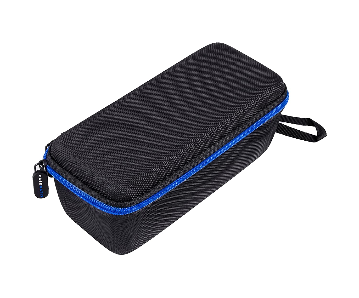 CASEMATIX Protective Travel Carry Case for Qardioarm Wireless Blood Pressure Monitor and More Medical Monitoring Accessories