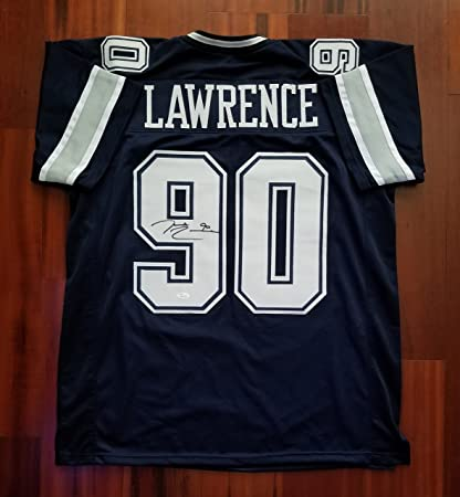 7035bf20f DeMarcus Lawrence Autographed Signed Jersey Dallas Cowboys JSA at ...