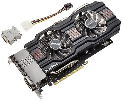 ASUS GTX660 TI-DC2O-2GD5 - Tarjeta gráfica, 2 GB GDDR5, PCI Express 3.0 x16, 2 x DVI, HDMI, DisplayPort
