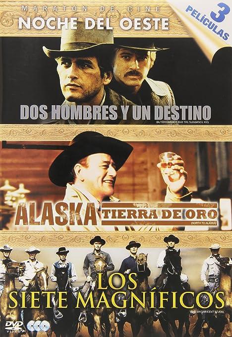 Pack Maraton De Cine; Noche Del Oeste: Dos Hombres Y Un Destino + ...
