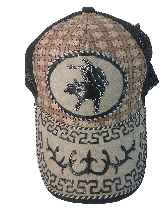 Gorra Charra Western Cowboy ID 119 GOX2 Negro//Beige