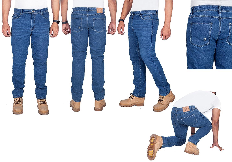 Amazon.com: HB Premium de calidad Moto Dupont ™ Jeans con ...