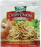 Fresh Gourmet Crispy Onions, Lightly Salted, 3.5 Ounce
