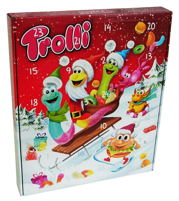 Trolli Adventskalender, 1er Pack (1 x 465g) CAPTAIN PLAY