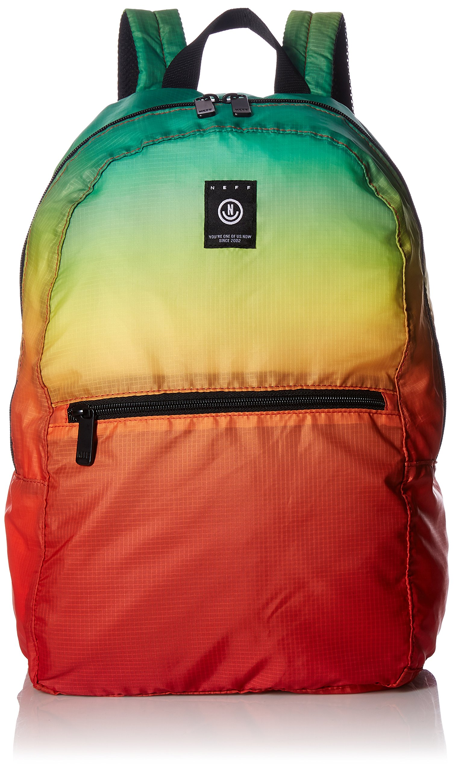 neff Men's Daily Packable Affordable Backpack, Rainbow, One Size