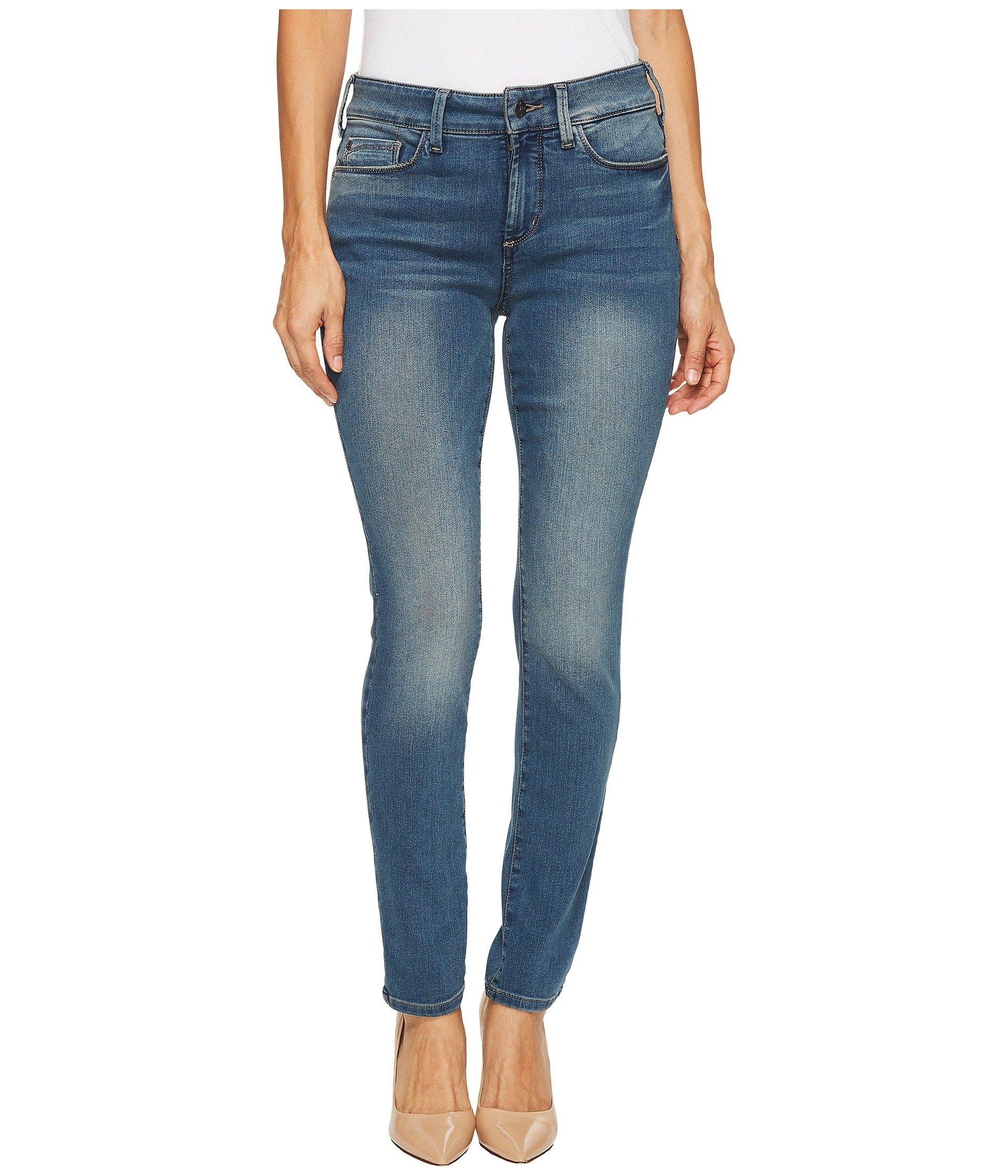 NYDJ Women's Petite Uplift Alina Legging in Future Fit Denim, Ferris, 6P