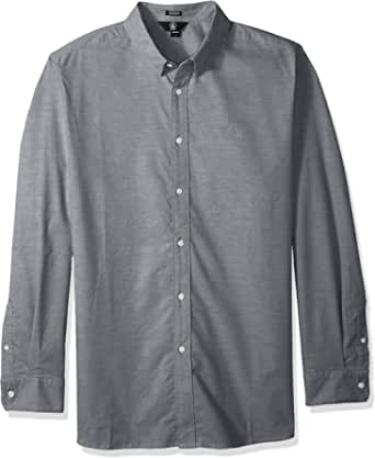 Volcom Oxford Stretch LS Camisa de Manga Larga Hombre