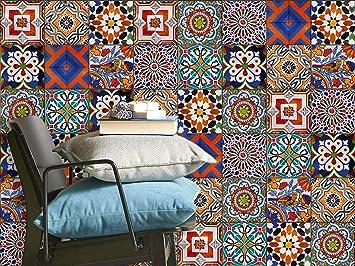 carrelage en film adhsif dcoratif carreaux de ciment de cuisine et salle de bain with carrelage. Black Bedroom Furniture Sets. Home Design Ideas
