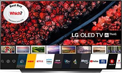LG Electronics OLED55B9PLA 55-Inch UHD 4K HDR Smart OLED TV with Freeview Play - Black colour (2019 Model) [Energy Class A] [Energy Class A]
