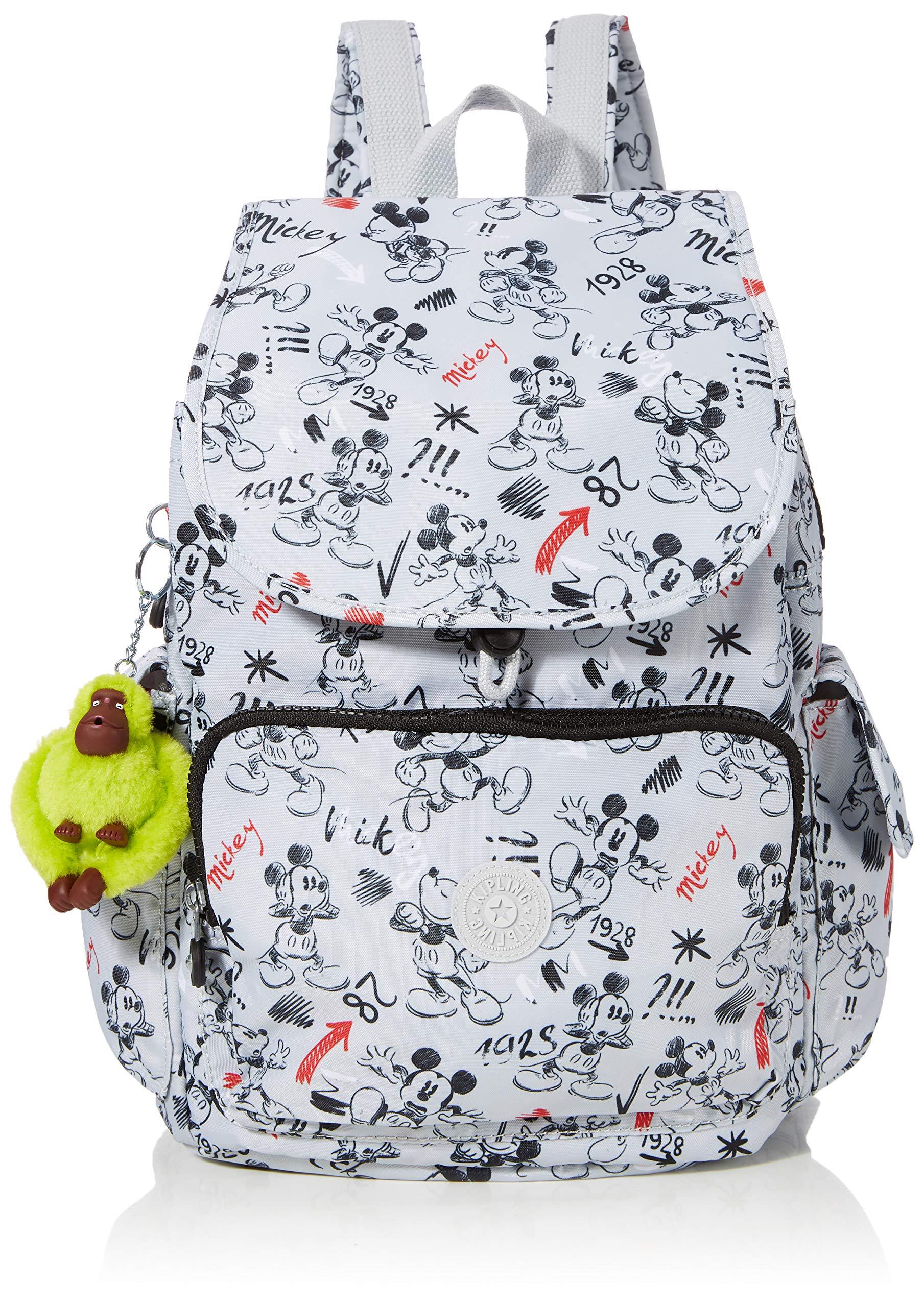 Kipling Backpack, Multicolour (Sketchgrey)