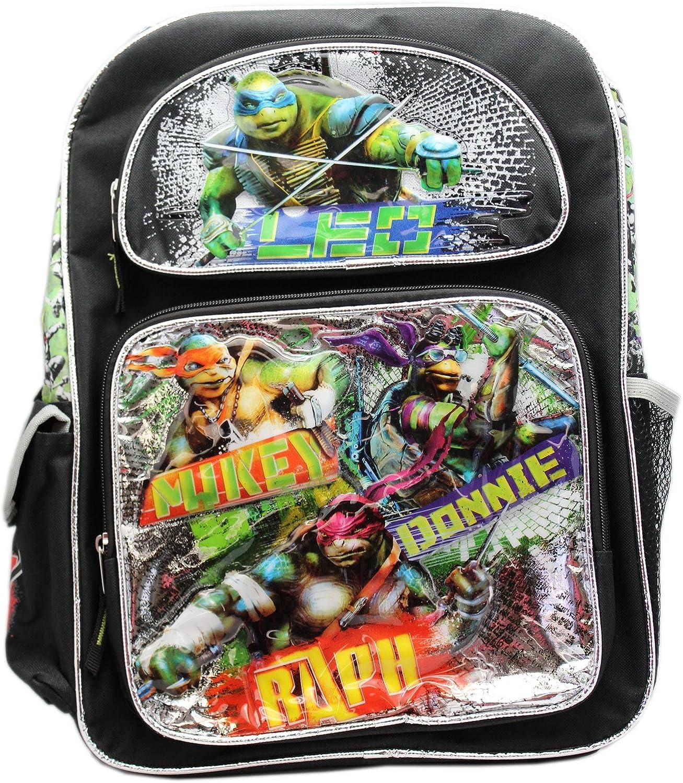 Boys School bag Teenage Mutant Ninja Turtles Backpack Movie Shoulders Bag Gift