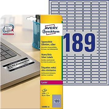gelb 56 Stk. Polyester selbstklebend Folienetiketten A4 Bogen 40 x 20 mm