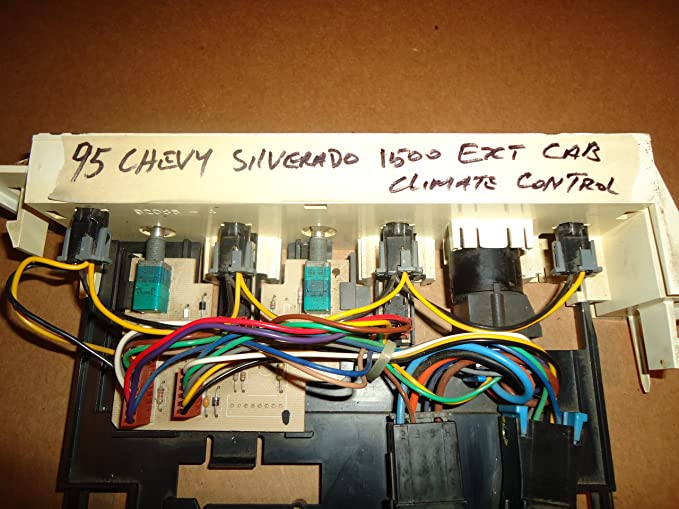 95 Chevy Silverado Heater Control Wiring