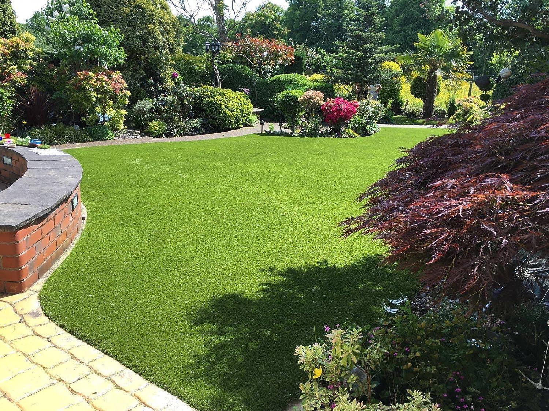 10cm x 10cm Sample of Rio 36mm Pile Height Artificial Grass | Astro Garden Lawn Fake Turf Tuda Grass Direct