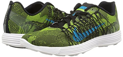 brand new d784a 6052a Amazon.com   NIKE Lunaracer+ 3 Mens Running Trainers 554675 Sneakers Shoes  (US 7, Ghost Green Blue Legion 304)   Road Running