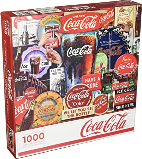 product image for Springbok 1000 Piece Jigsaw Puzzle Coca-Cola Decades of Tradition