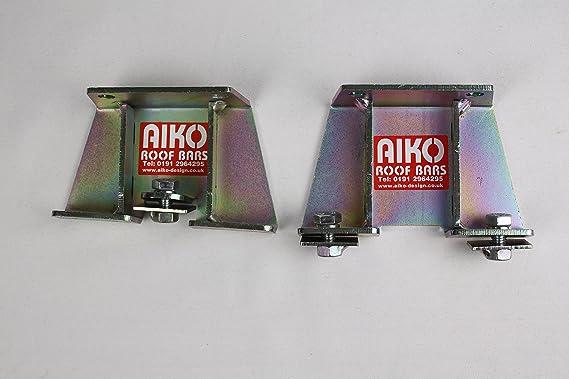 AMFS206 3 Bar Modular Roof Rack With Ladder Roller Aiko Design Ltd