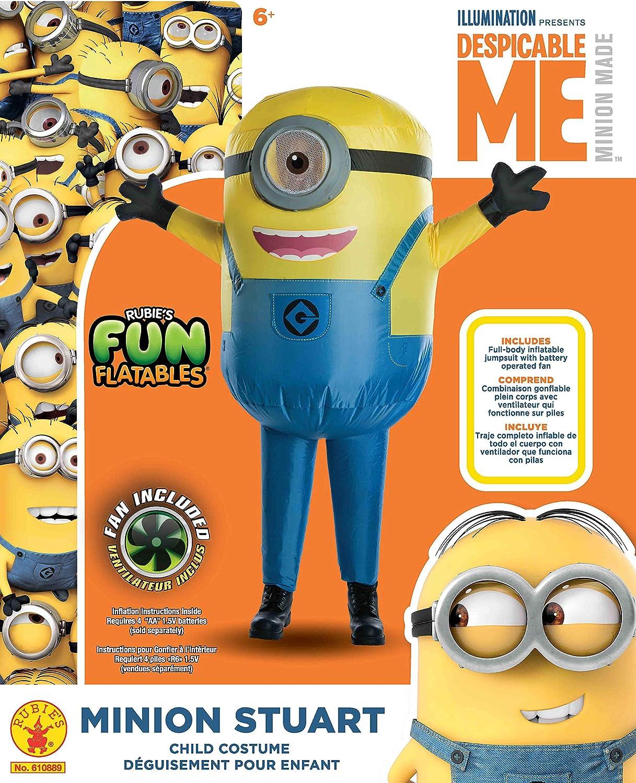 Rubies Despicable Me Minion Stuart Inflatable Child Costume
