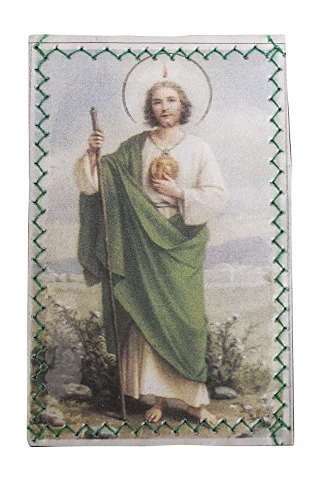 Amazoncom Laminated St Jude Wallet Protection With Prayer For