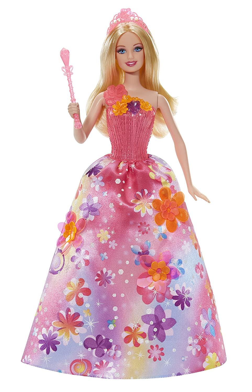 barbie ccf83 doll barbie princess magic alexa amazoncouk toys games