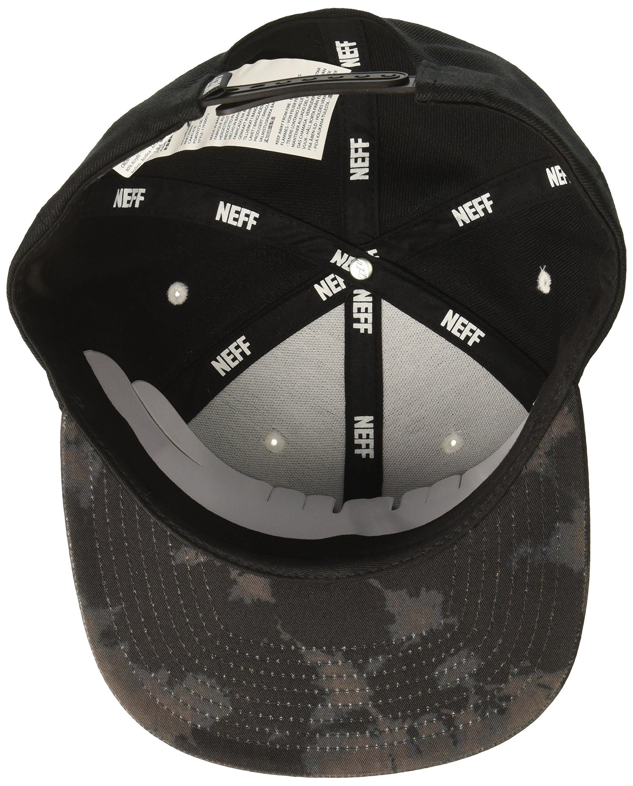 NEFF Men's Daily Cap, Black Wash, One Size by NEFF (Image #3)