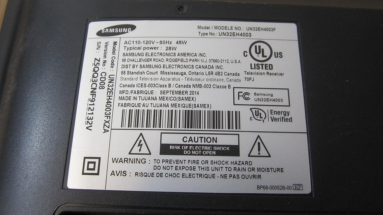 samsung tv model un32eh4003f. amazon.com: samsung - un32eh4003f power supply bn44-00664a #p8379 #p8379: home audio \u0026 theater tv model un32eh4003f