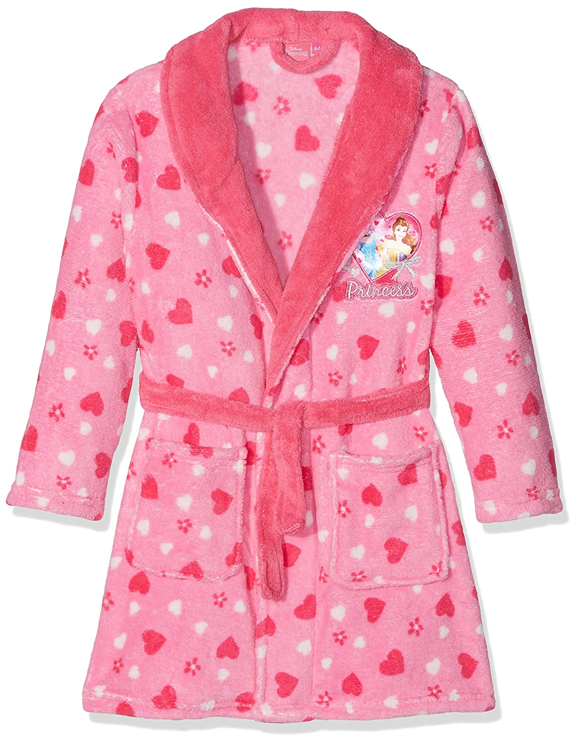 Sun City FR Girl's Princess Small Hearts Kimono DHQ2160