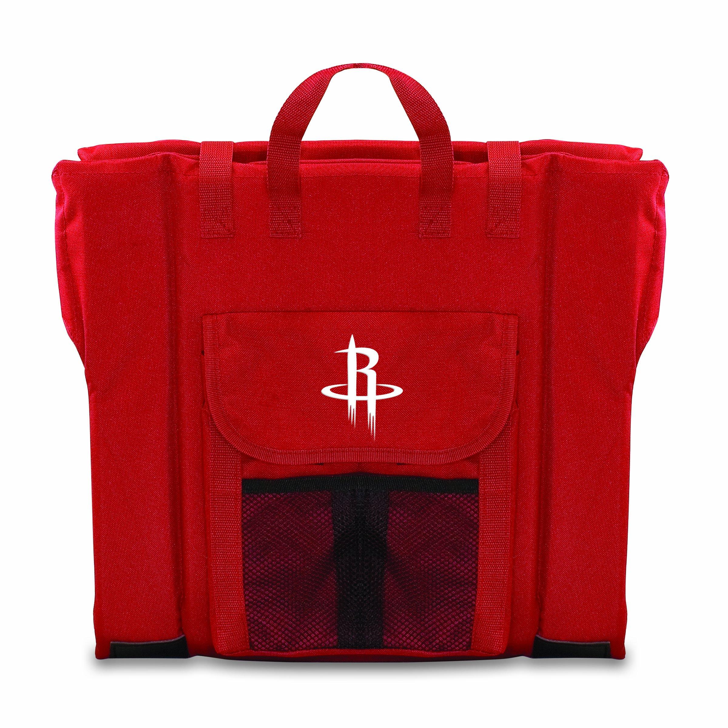 PICNIC TIME NBA Houston Rockets Portable Stadium Seat, Red