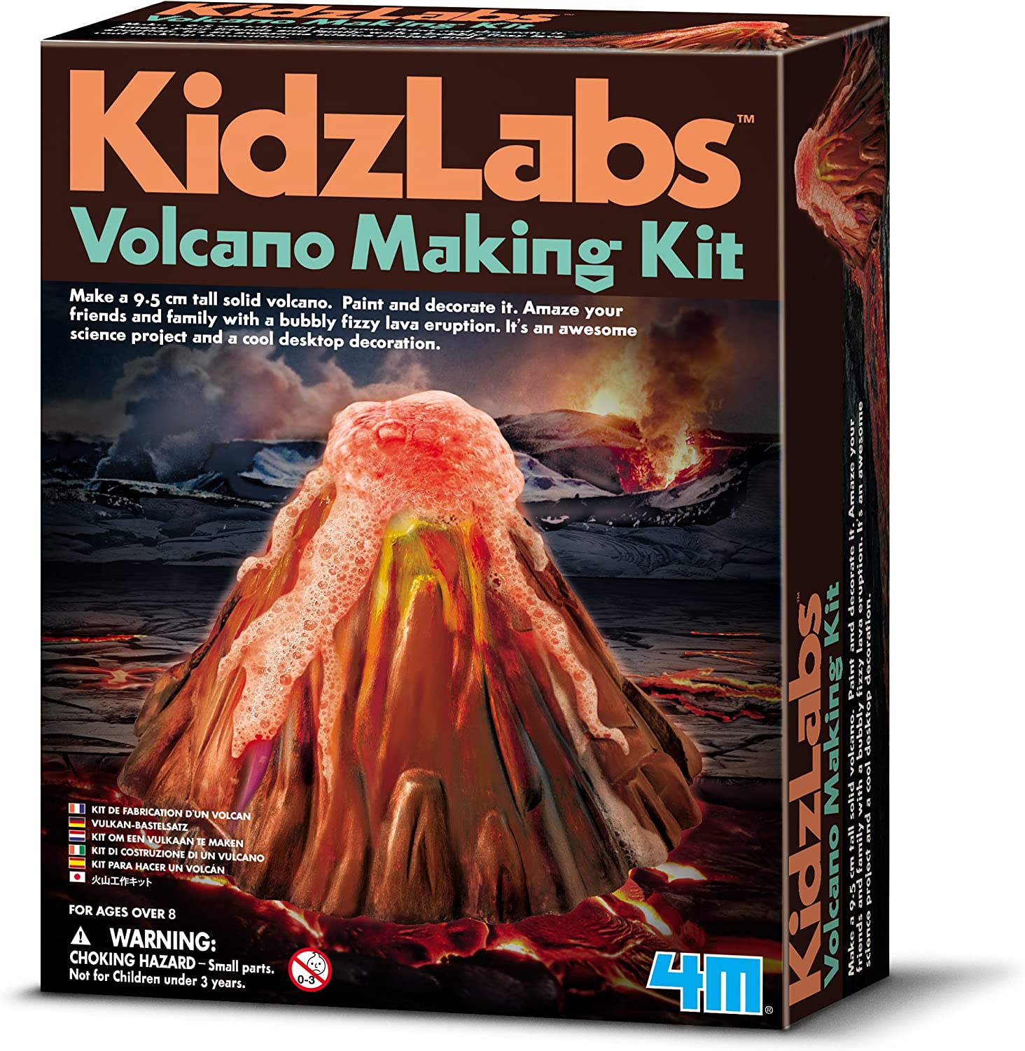 4M - Volcano Making Kit, Juguete Educativo (004M3230): Amazon.es: Juguetes y juegos